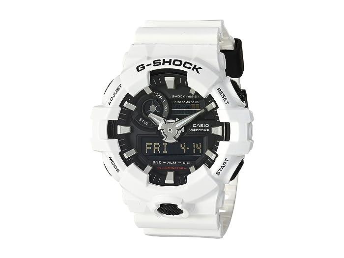 G-Shock  GA-700 (White) Sport Watches