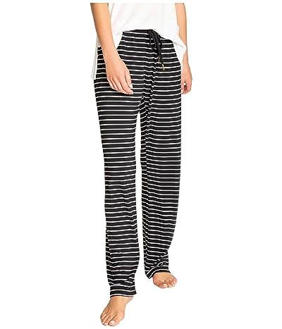 P.J. Salvage Modern Modal Sleep Pants (Black) Women