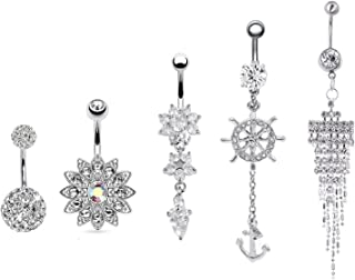 Best belly button piercing anchor Reviews