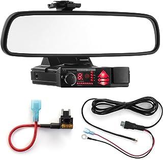 Radar Mount Mirror Mount Bracket + Direct Wire Power Cord + Micro Fuse Tap for Valentine V1 (3001504)