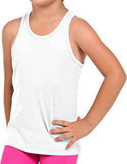 FRESH TEE Girls' Racer Back Tank Top Tunic