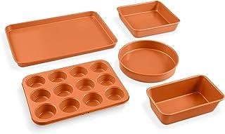 Amazon Com Copper Baking Cookie Sheets Bakeware Home Kitchen
