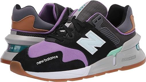 Black/Neo Violet