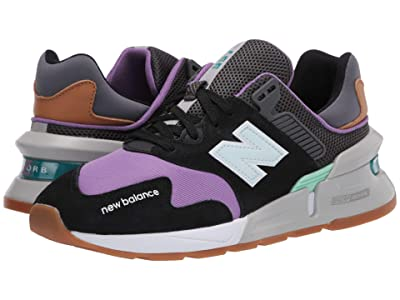 New Balance Classics WS997Jv1 (Black/Neo Violet) Women