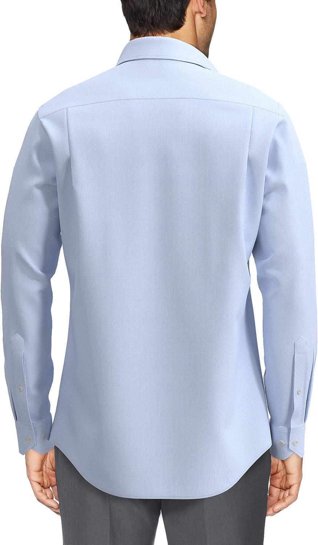 Buttoned Down Herren Tailored Fit Button-Collar Pinpoint Non-Iron Dress Shirt Dress-Shirts