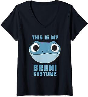 Donna Disney Frozen 2 This Is My Bruni Costume Halloween Maglietta con Collo a V