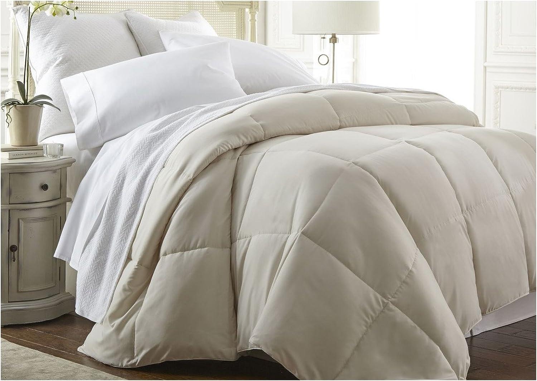 Becky Cameron Down Alternative Comforter, Queen, Cream