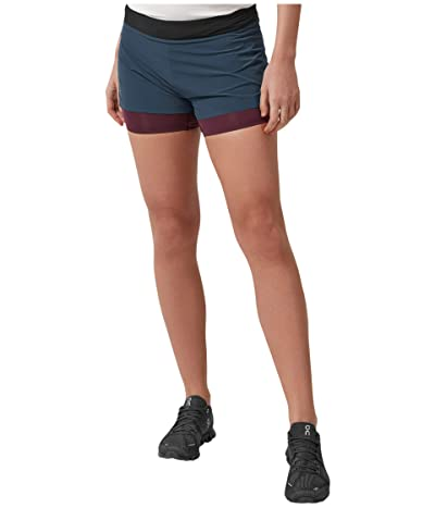 On Running Shorts (Navy/Mulberry) Women