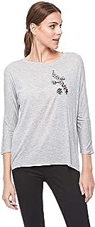 Bershka T-Shirts For Women L, Grey