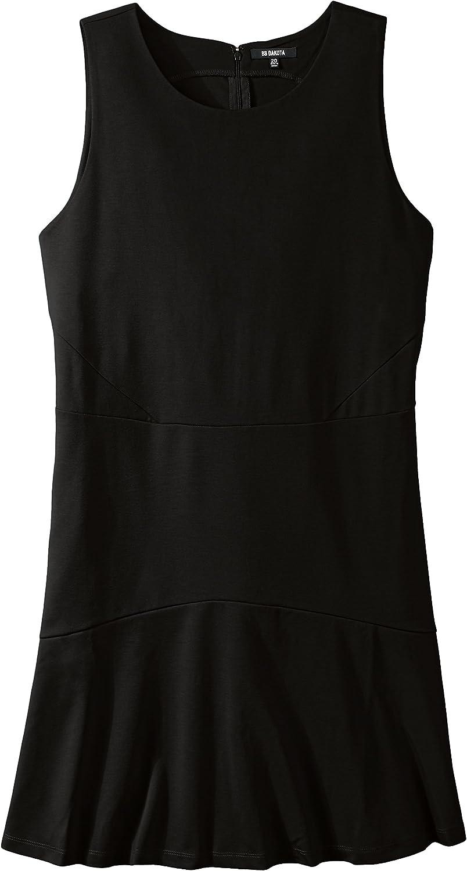 BB Dakota Women's PlusSize Hallows Ponte Fit and Flare Dress