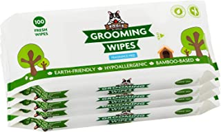 Pogi's Grooming Wipes - 400 Deodorising Wipes for Dogs & Cats - Biodegradable, Hypoallergenic, Fragrance-Free