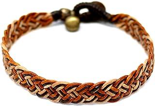 Origin Siam Handmade Waxed Cotton Thai Plait Wristband | Unisex Hand-Woven Bracelet | for Karma Luck Love Friendship | Yog...