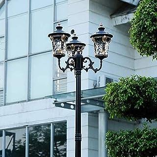 Réverbère victorien High Pole Artisan Poteau extérieur Lanterne de pilier Éclairage de voie extérieure Éclairage de piédes...
