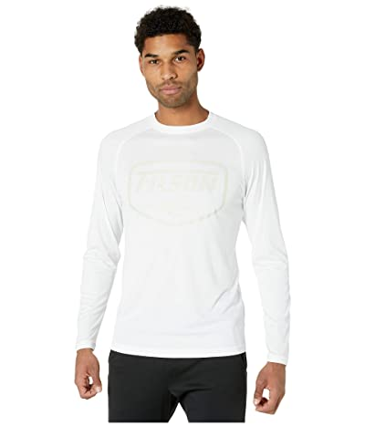 Filson Long Sleeve Barrier T-Shirt (White 2) Men