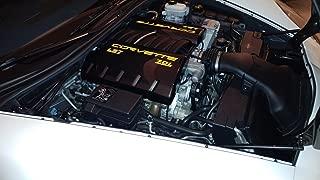 Performance Corvettes C6 Grand Sport LS2 LS3 Carbon Fiber HydroGraphics Fuel Rail Engine Covers