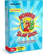 Number Slap Jack - a Fun Number Recognition and Counting Card Game – Kids Learn Numbers 0-20 While Playing a Fun Game - Perfect for PreK Thru 1st Grade Learners