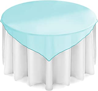Best organza table overlays Reviews