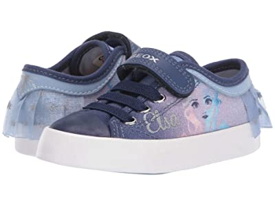 Geox Kids Frozen Ciak 74 (Toddler/Little Kid) (Light Sky/Navy) Girl