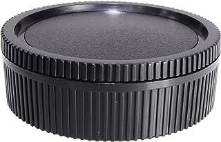 مجموعة غطاء للعدسات الخلفية وغطاء الجسم من CamDesign متوافقة مع كاميرا لايكا R Mount R3، R4، R5، R6، R7، R8، R9، Leicaflex...