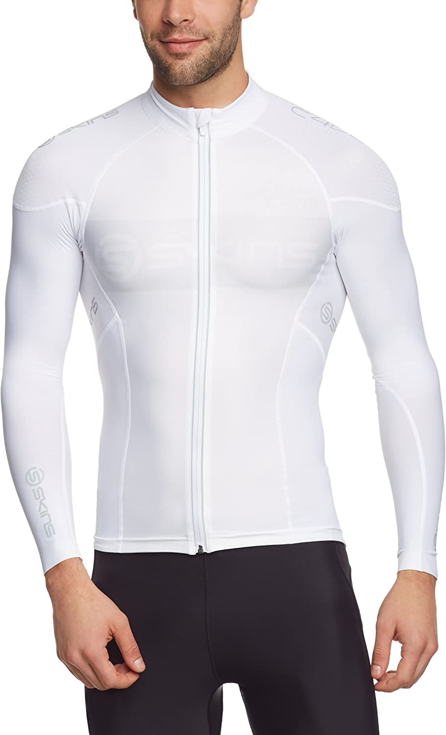 Skins Jersey Cycle C400 Men's Compression Long Sleeve