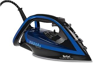 Tefal Turbo Pro Steam Iron, 2600W,Blue and Black, FV5648