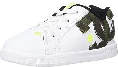 DC Kids' Court Graffik Elastic Se Ul Sn Skate Shoe