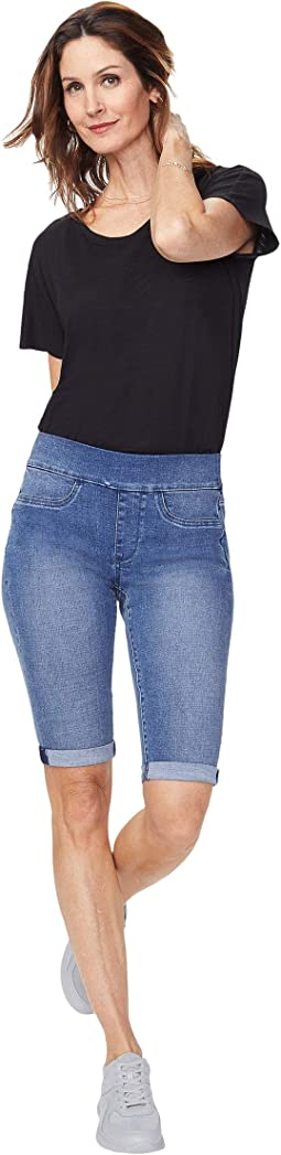 """13"""" Pull-On Shorts with Roll Cuffs"""