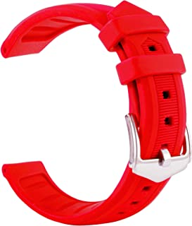 Premium Multi-Color Silicone Watch Band for Men and Women 18mm, 20mm, 21mm, 22mm, 24mm Soft Rubber Replacement Watch Band Strap for Apple Samsung Huaiwei 2019 Smart Watch Series