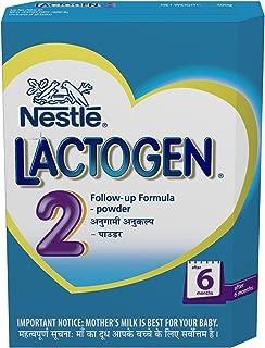 Nestlé LACTOGEN 2 Follow Up Infant Formula (after 6 Months) 400g Pack of 3..