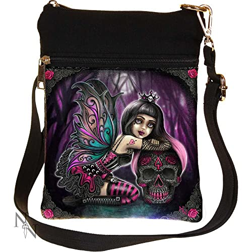 4f0a45e573 NEMESIS NOW LOLITA LITTLE SHADOWS GOTHIC FAIRY GIRL WINGS SKULL BAG HANDBAG  BEDLAM