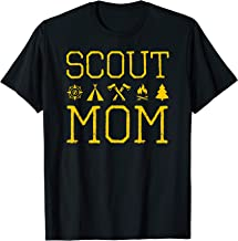 scout mom scout scouting member supporter T-Shirt