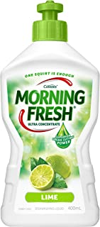 Morning Fresh Lime Dishwashing Liquid, Lime 400 milliliters
