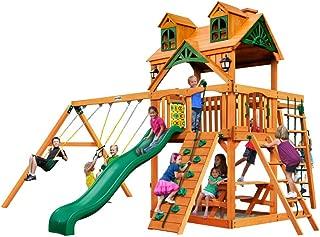 Gorilla Playsets Malibu Navigator Swing Set w/Natural Cedar
