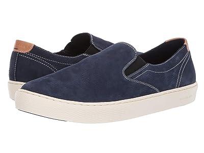 Cole Haan Grandpro Deck Slip-On Sneaker (Marine Blue Nubuck) Men