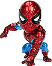 Jada Toys Diecast Metal Marvel 4 inch Classic Spiderman Candy Action Figure for Kids Boys Girls Age 8 Years and Above