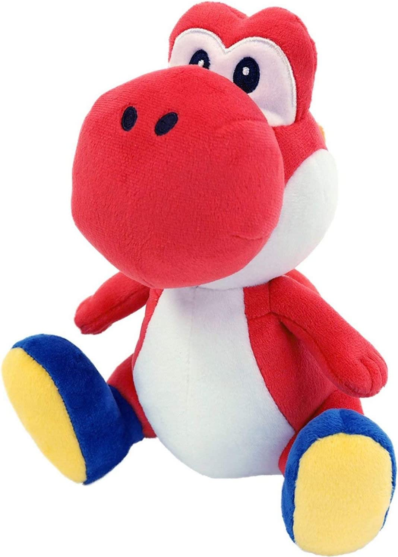 Buy Little Buddy 1389 Super Mario All Star Collection Red Yoshi Plush 7 Online In Taiwan B00whagsuw