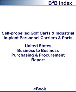 Self-propelled Golf Carts & Industrial In-plant Personnel Carriers & Parts B2B United States: B2B Purchasing + Procurement Values in the United States