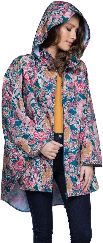Rain Jacket for Women  Lightweight Poncho  12 Styles (Waterproof Raincoat)