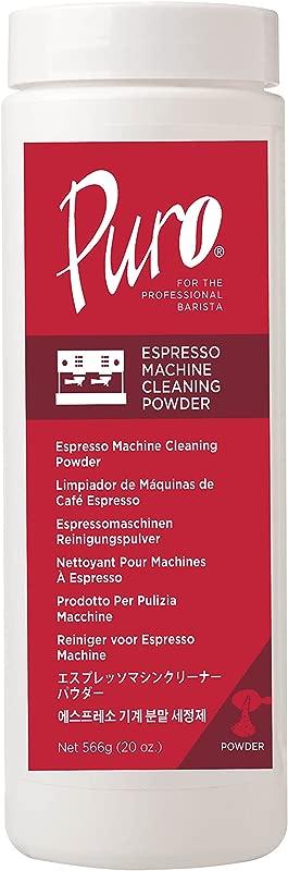 Puro Caff 20 Ounce Espresso Machine Cleaner Cleaning Powder Back Flush Espresso Machines Clean Airpots