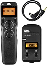 Pixel Timer Shutter Release TW283-N3 Wireless Remote Control for Canon 5D Mark III/ 5D Mark IV/ 5D 6D /7D Mark II/ 7D 50D 40D 30D D60 D30 1DX MARKII