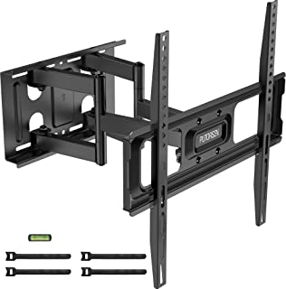 "PUTORSEN® Soporte de TV Pared Articulado Inclinable y Giratorio – Soporte de TV para Pantallas de 32-70"", Max VESA 400x400..."