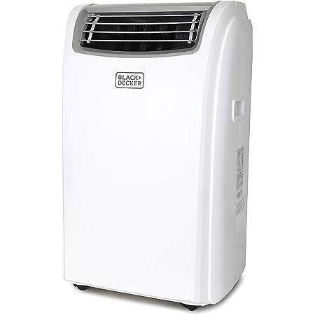 BLACK+DECKER BPACT14WT Portable Air Conditioner with Remote Control, 7,700 BTU DOE (14,000 BTU ASHRAE), Cools Up to 350 Square Feet, White