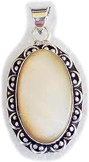 Biwa Pearl Pendant, Silver Plated Brass Pendant, Handmade Pendant, Gift Jewelry, Women Jewellry, Fashion Jewellry, BRS-12339