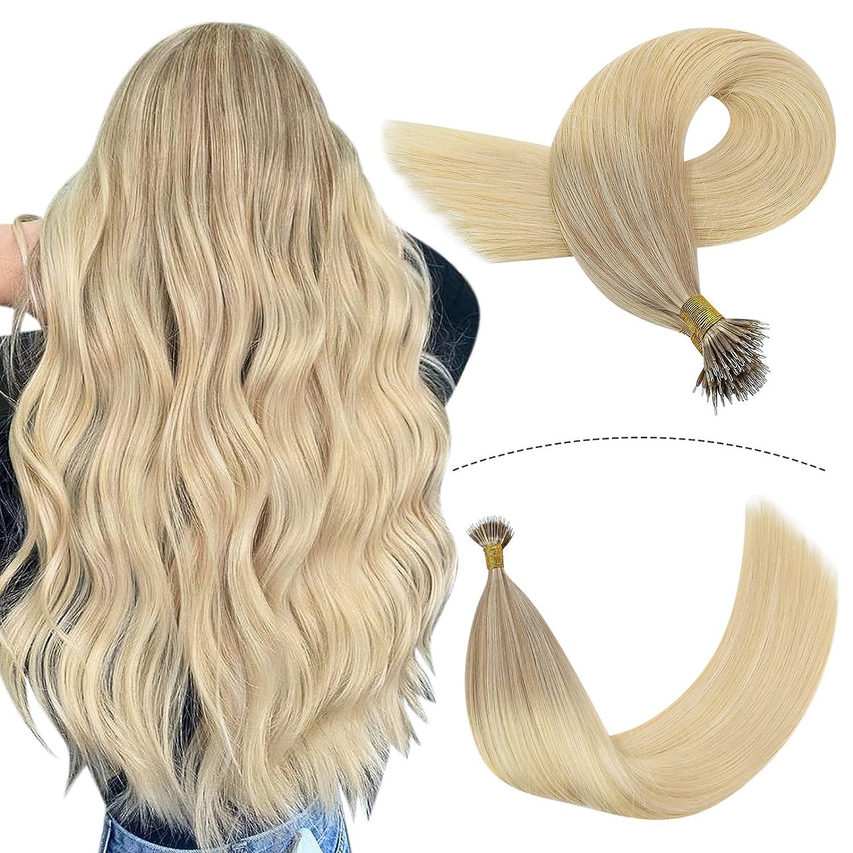 YoungSee Nano Bead Hair Extensions 最新アイテム 22inch Human 大規模セール Ha Tip