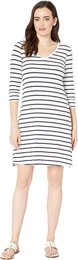 Navy Stripes/White