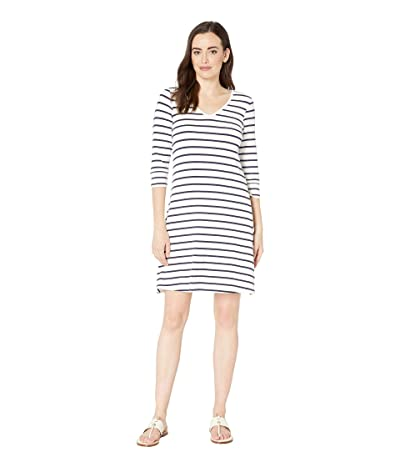 Hatley Elsie Dress (Navy Stripes/White) Women