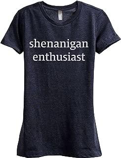 Thread Tank Shenanigan Enthusiast Women's Fashion Relaxed T-Shirt Tee