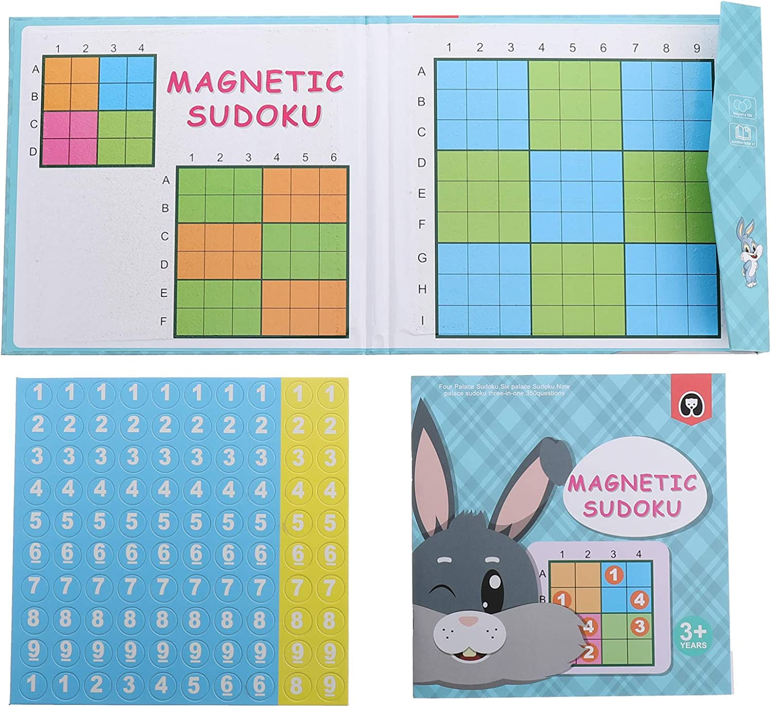Toyvian Sudoku Magnetic Board Games Dallas Mall Number OFFicial mail order Travel Sud Puzzle Toy