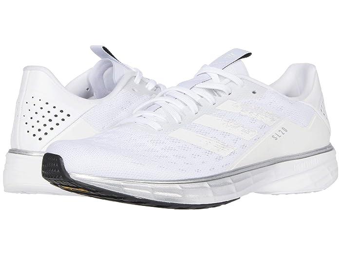 adidas Running  SL20 (Footwear White/Core White/Core Black) Womens Running Shoes