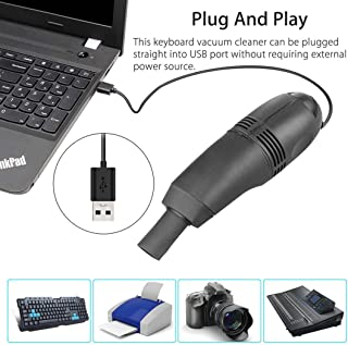 SUJING Mini USB Vacuum Cleaner, Computer Dust Collector Keyboard Vacuum Sweeper Cleaning Kits Tools for